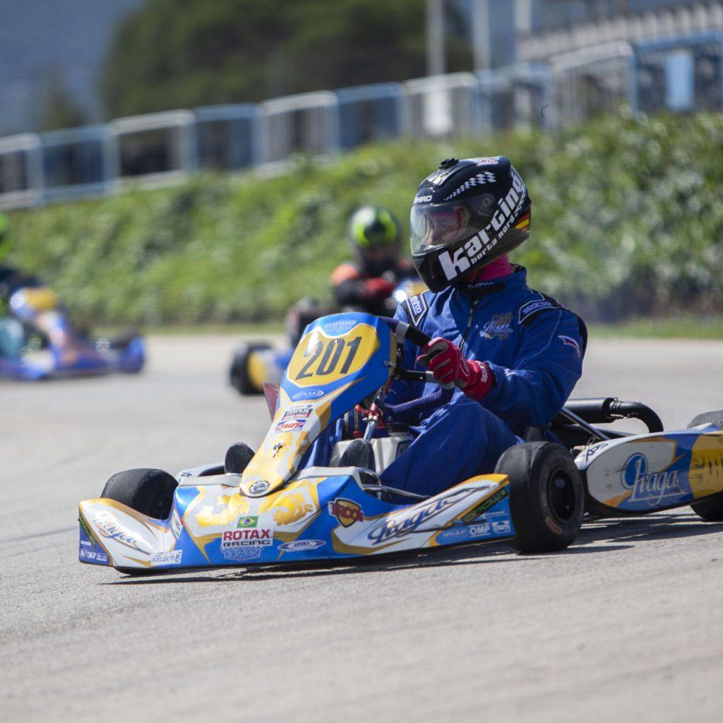 Foto karting competición praga
