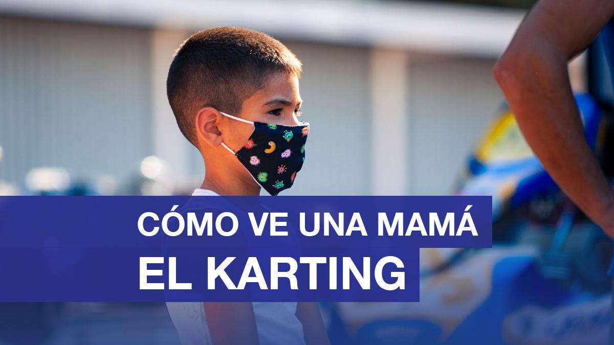 Cómo ve una mamá el karting