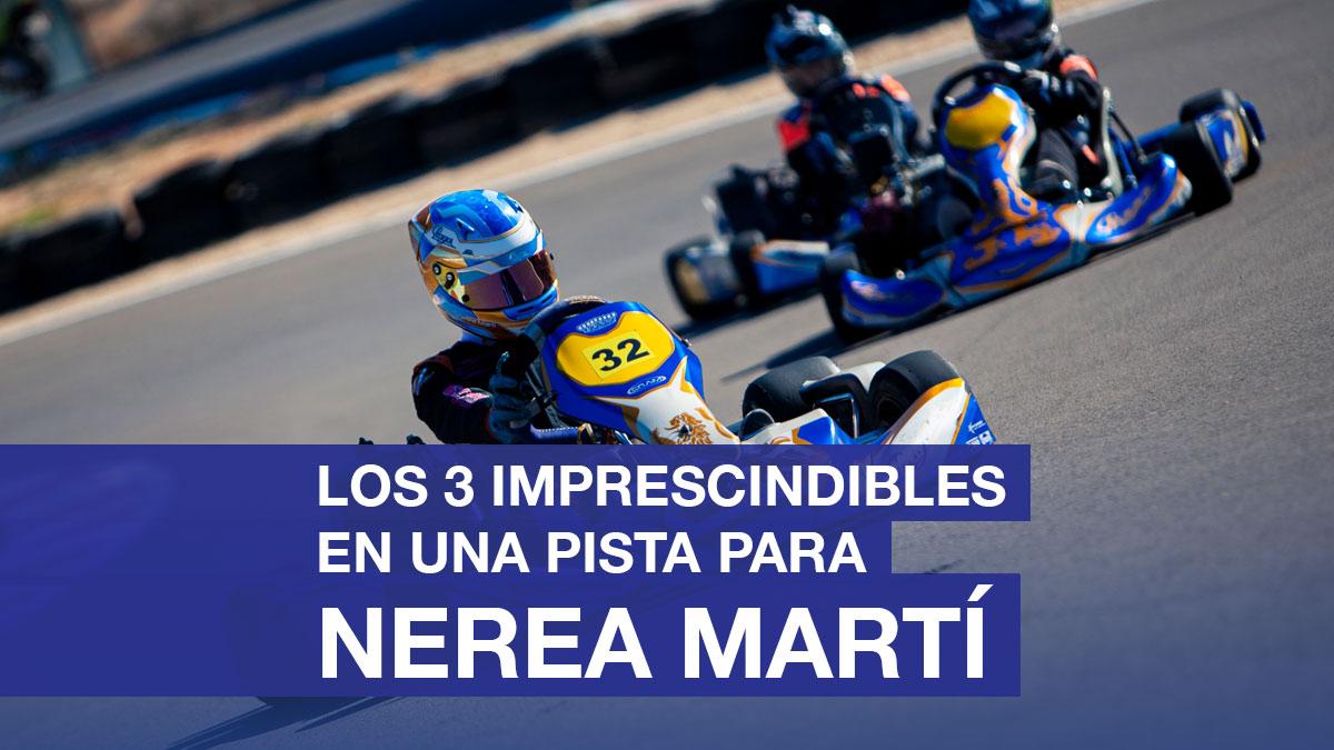 3 impresicindibles para Nerea Marti